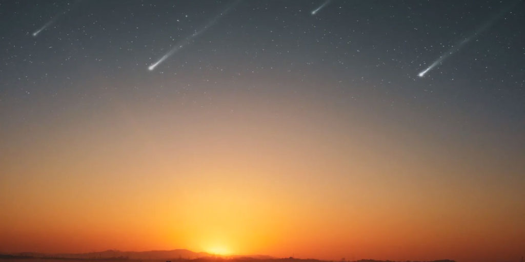 Los meteoritos podrían crear estruendo al entrar a la atmósfera de la Tierra