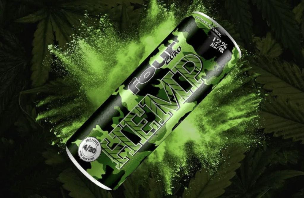 ¿Four Loko con sabor a cannabis?