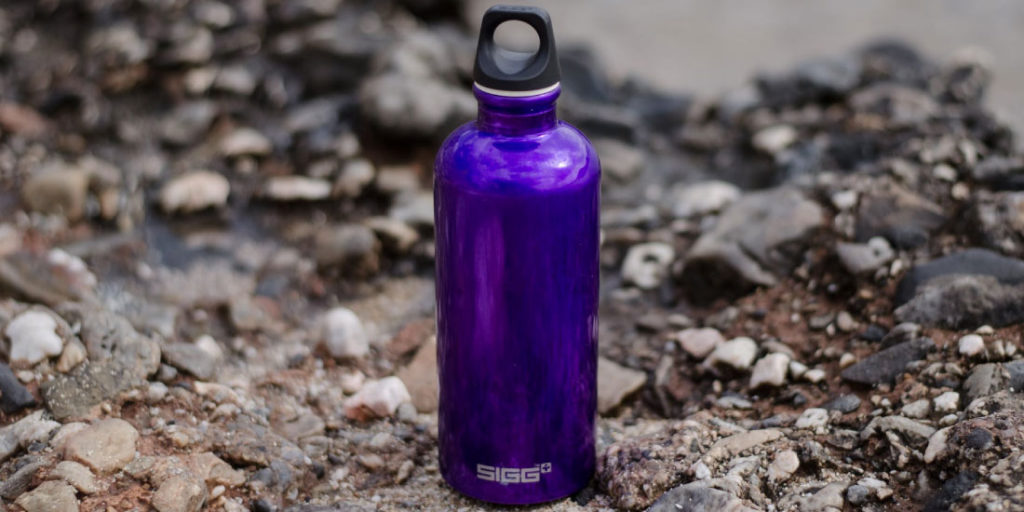 Lleva tu termo contigo para recordar tomar más agua
