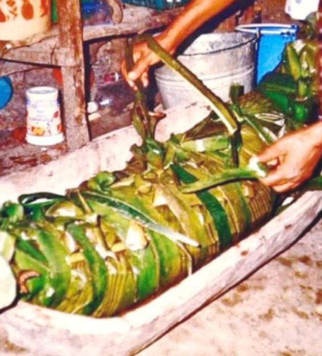 Origen del zacahuil