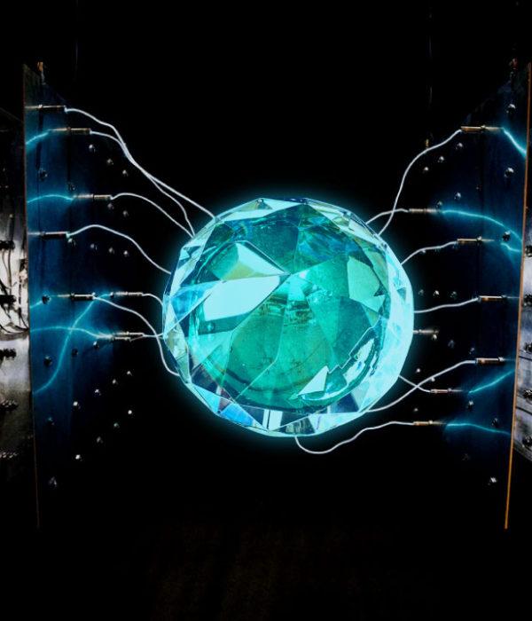 Diamantes radiactivos