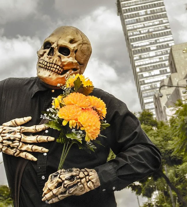 Disfraz para día de muertos