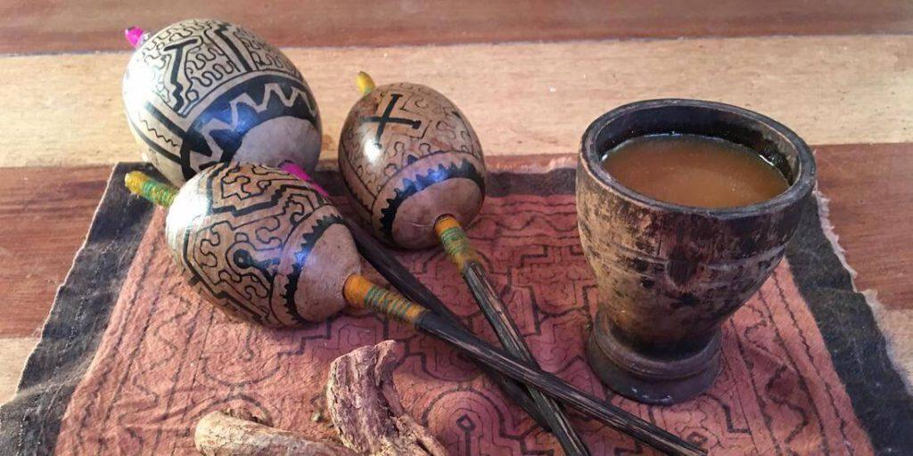 ícaros ayahuasca ceremonia