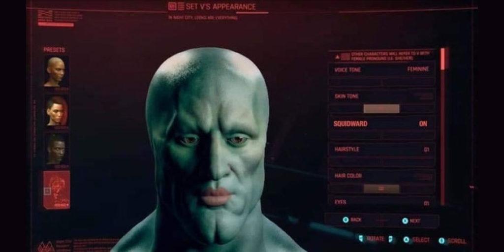 Calamardo Guapo Cyberpunk 2077