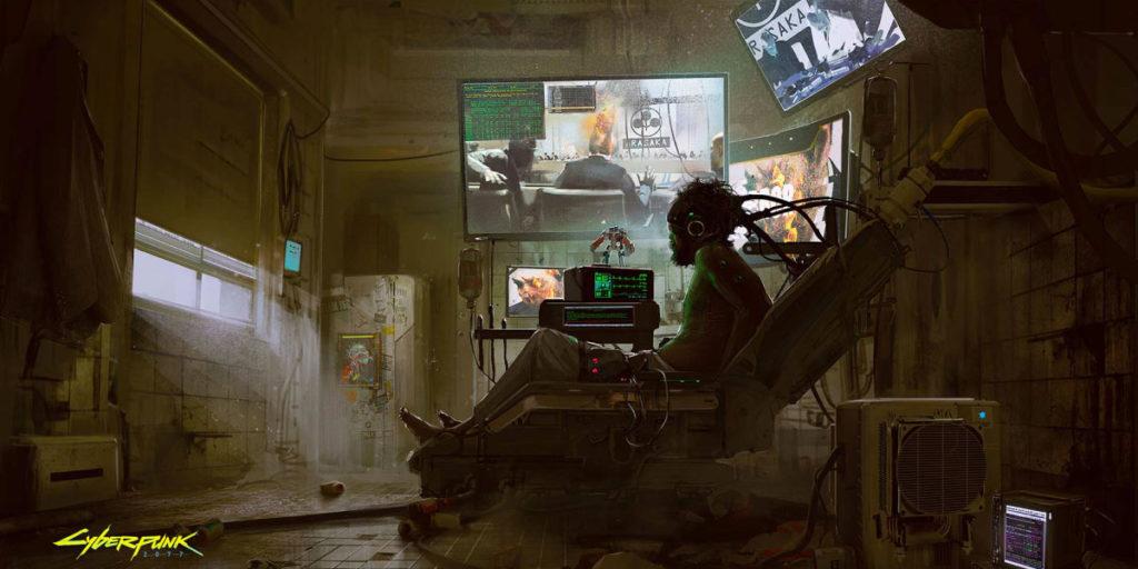 Arte conceptual de Cyberpunk 2077