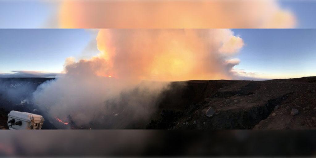 ¿Quién pidió que nos sorprendiera diciembre? En las últimas horas se registró una erupción del volcán Kilauea en Hawái, Estados Unidos.